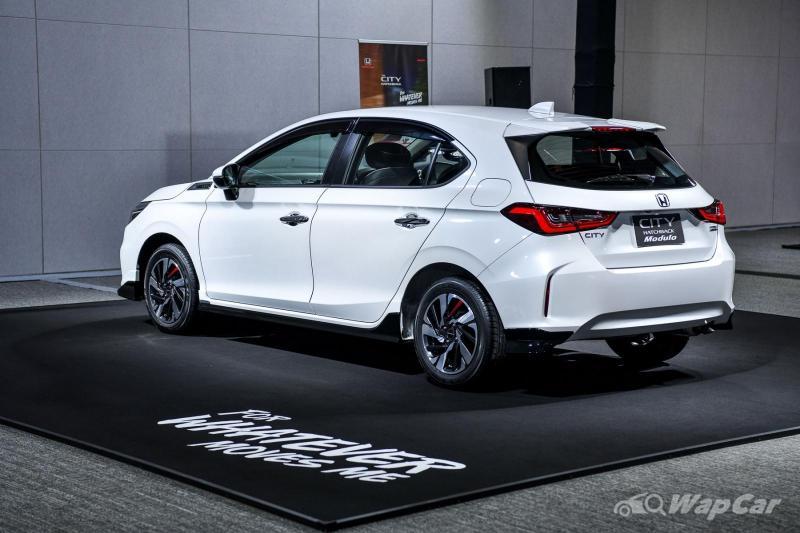 Malaysia-bound 2021 Honda City Hatchback - All your ...