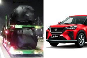 Spied: Perodua Ativa (D55L) during night delivery, have you booked yours?