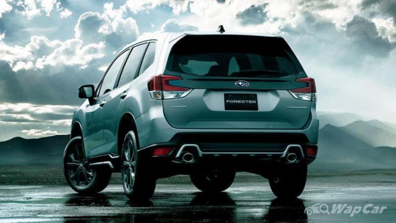 Subaru Forester 2021 dirasmikan di Jepun – Enjin turbo, 177 PS & 300 Nm tork 02