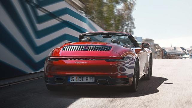 2019 Porsche 911 the new 911 Carrera Cabriolet Exterior 003