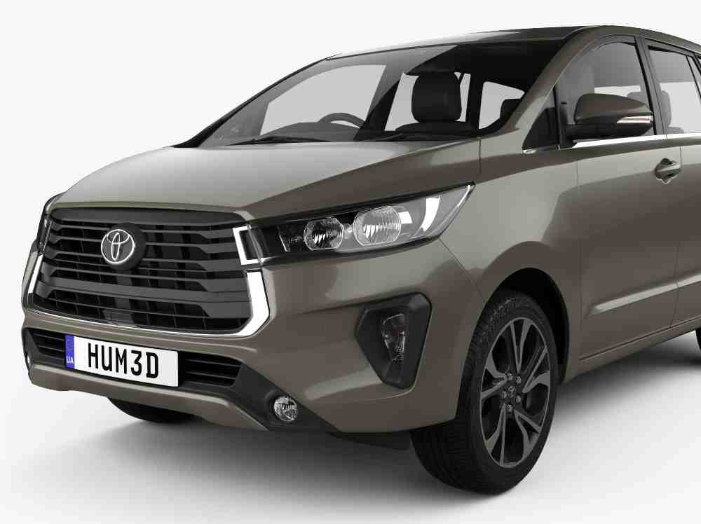 Leaked: 2021 Toyota Innova facelift revealed ahead of launch! 02