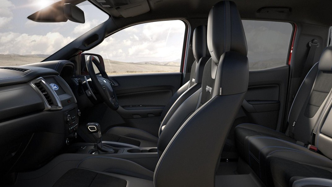 2021 Ford Ranger Raptor 2.0 Bi-Turbo Interior 002