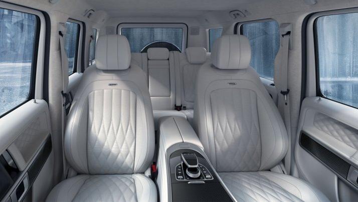 Mercedes-Benz AMG G-Class (2019) Interior 009