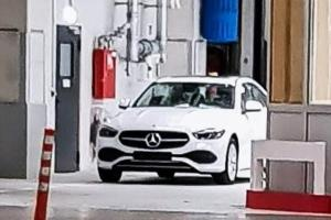 Spied: All-new W206 Mercedes-Benz C-Class spotted without camouflage!