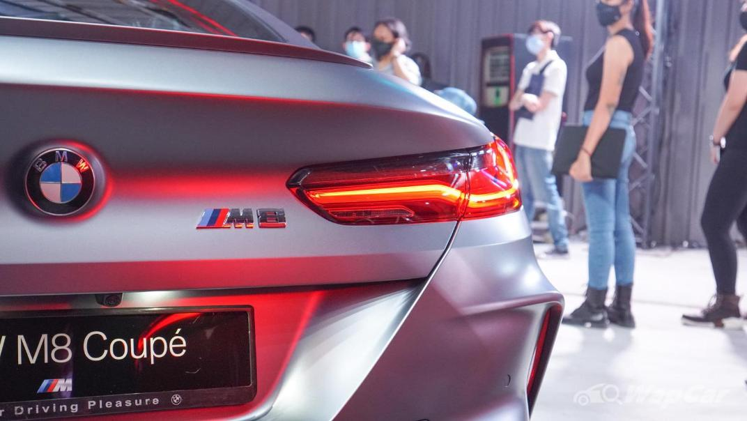 2020 BMW M850i xDrive Coupe Exterior 007