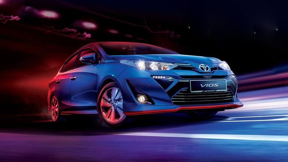 Toyota Vios (2019) Exterior 001