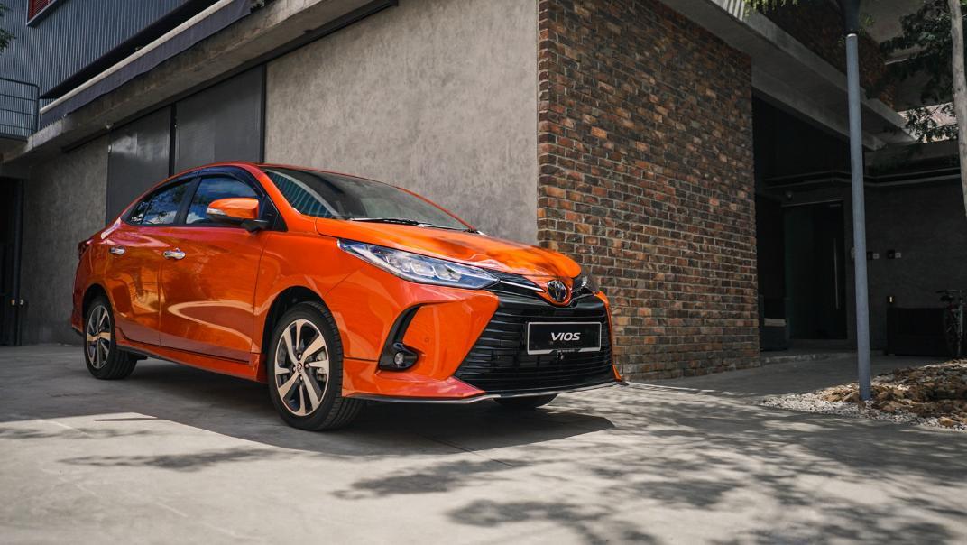 2021 Toyota Vios 1.5E Exterior 014