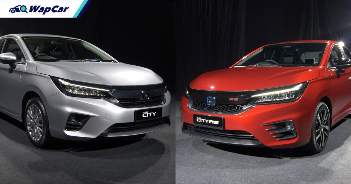 2020 Honda City 4 Variants Which To Choose Wapcar