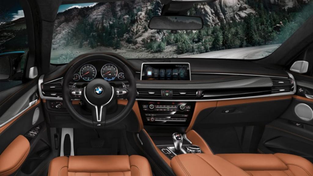 BMW X6 M (2019) Interior 001