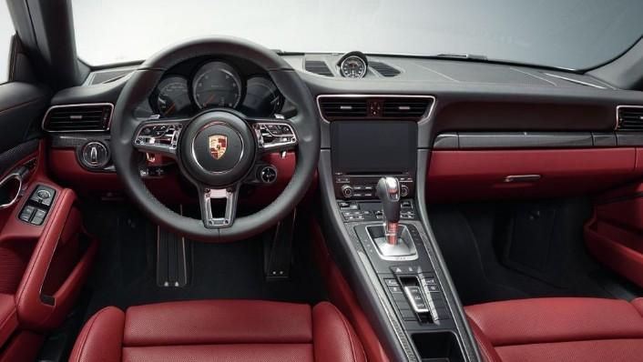 2019 Porsche 911 Turbo S Cabriolet Interior 001
