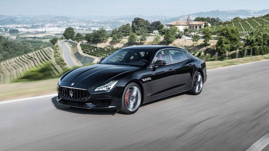 Maserati Quattroporte (2018) Exterior 001