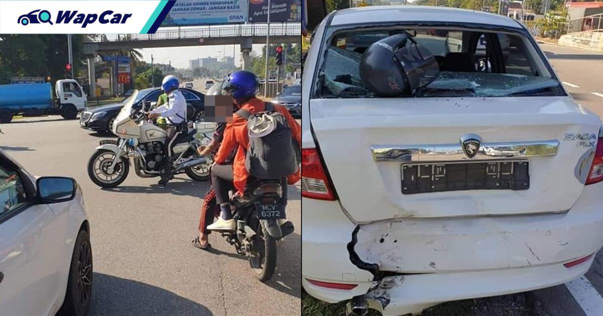 JSPT Melaka nafi konvoi VIP jadi punca kemalangan kereta-motosikal. Siapa betul? 01