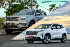 Tech Comparison: Why the Proton X70 is no match for the Haval H6