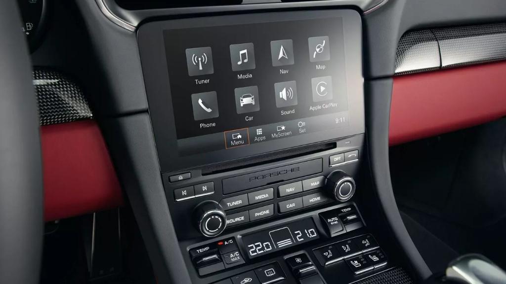Porsche 911 911 Turbo Interior 003
