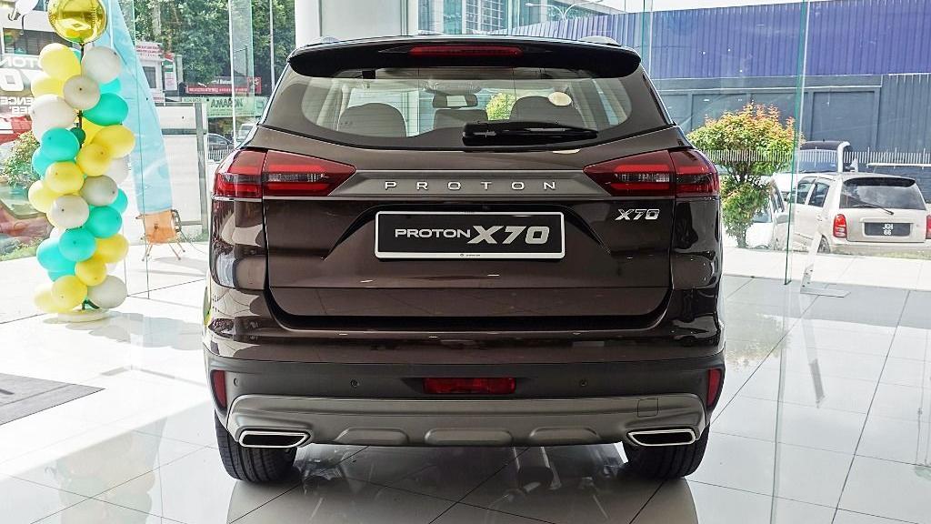 2018 Proton X70 1.8 TGDI Premium 2WD Exterior 006