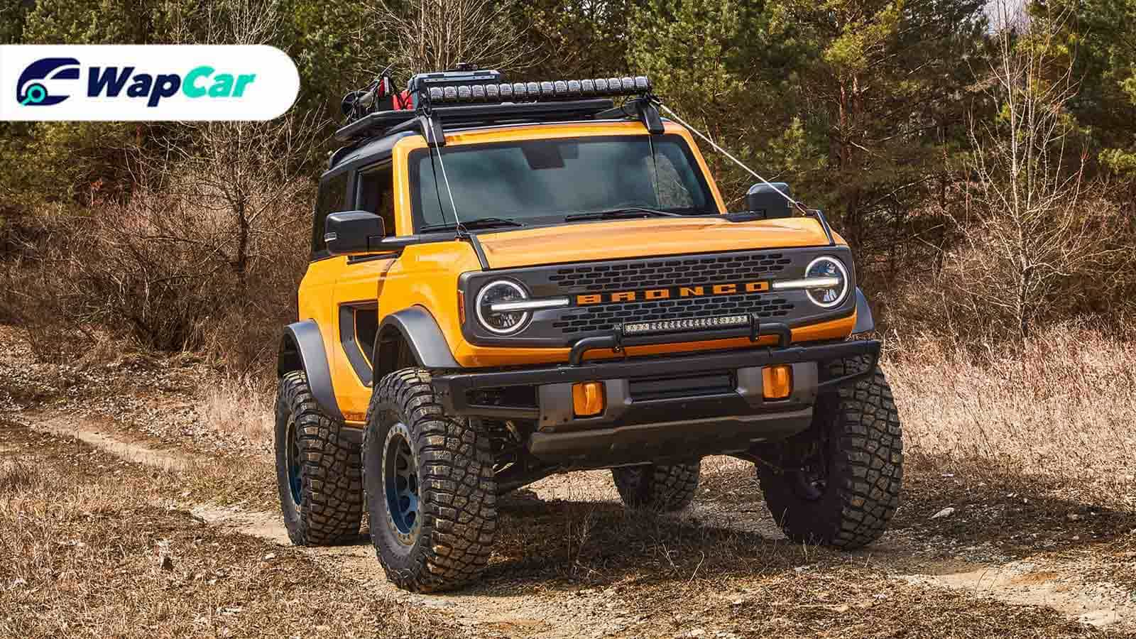 2021 Ford Bronco looks set to wrangle the competition 01