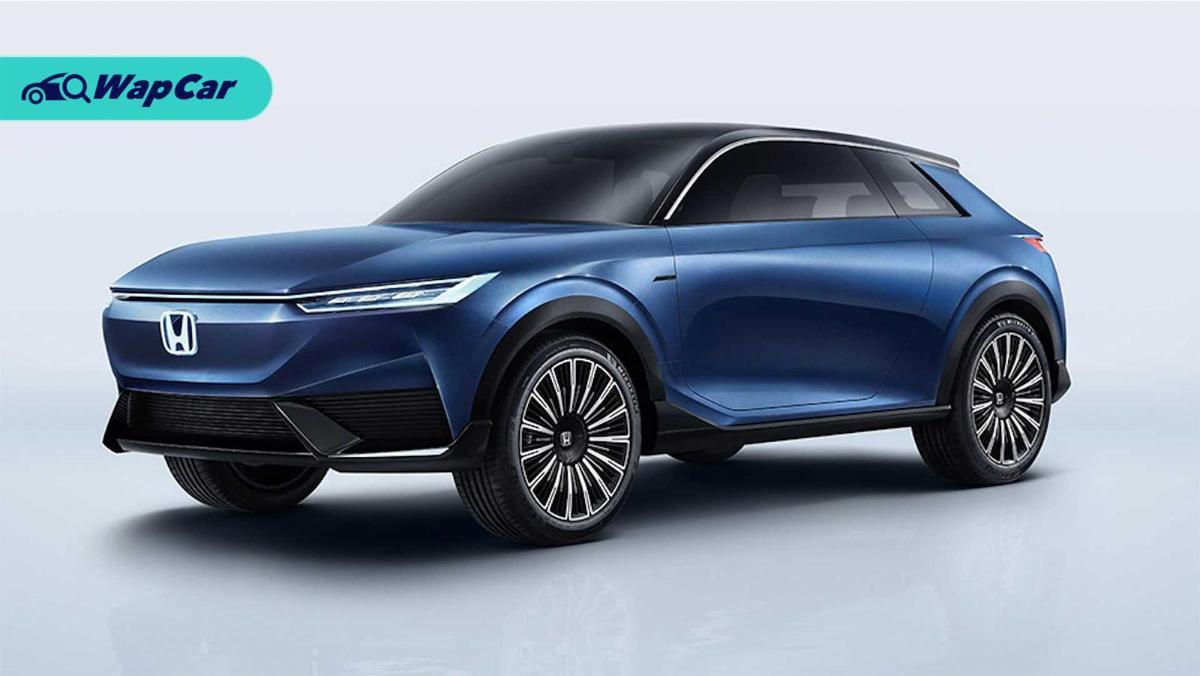 Honda SUV e:concept di pratonton; sekilas reka bentuk Honda akan datang? 01