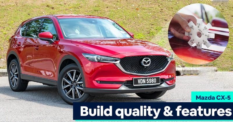2020 Mazda CX-5 Turbo Build Quality