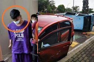 Myvi driver from viral van crash released from custody
