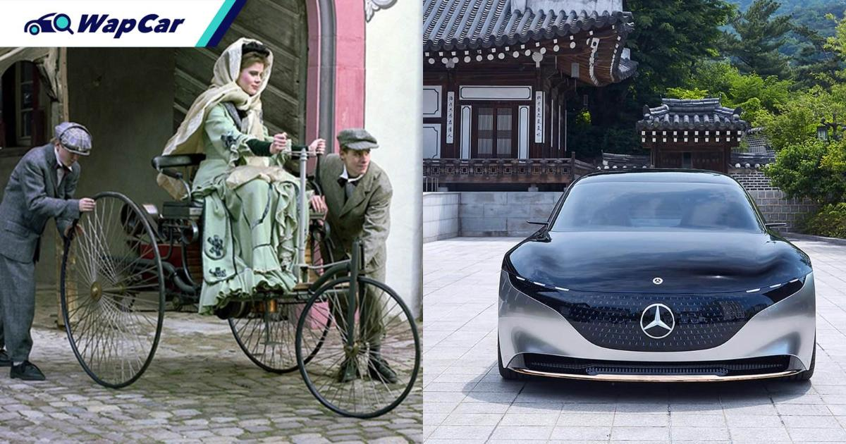 The car was co-invented by a woman, Bertha Benz but patent laws wouldn't recognize her work 01