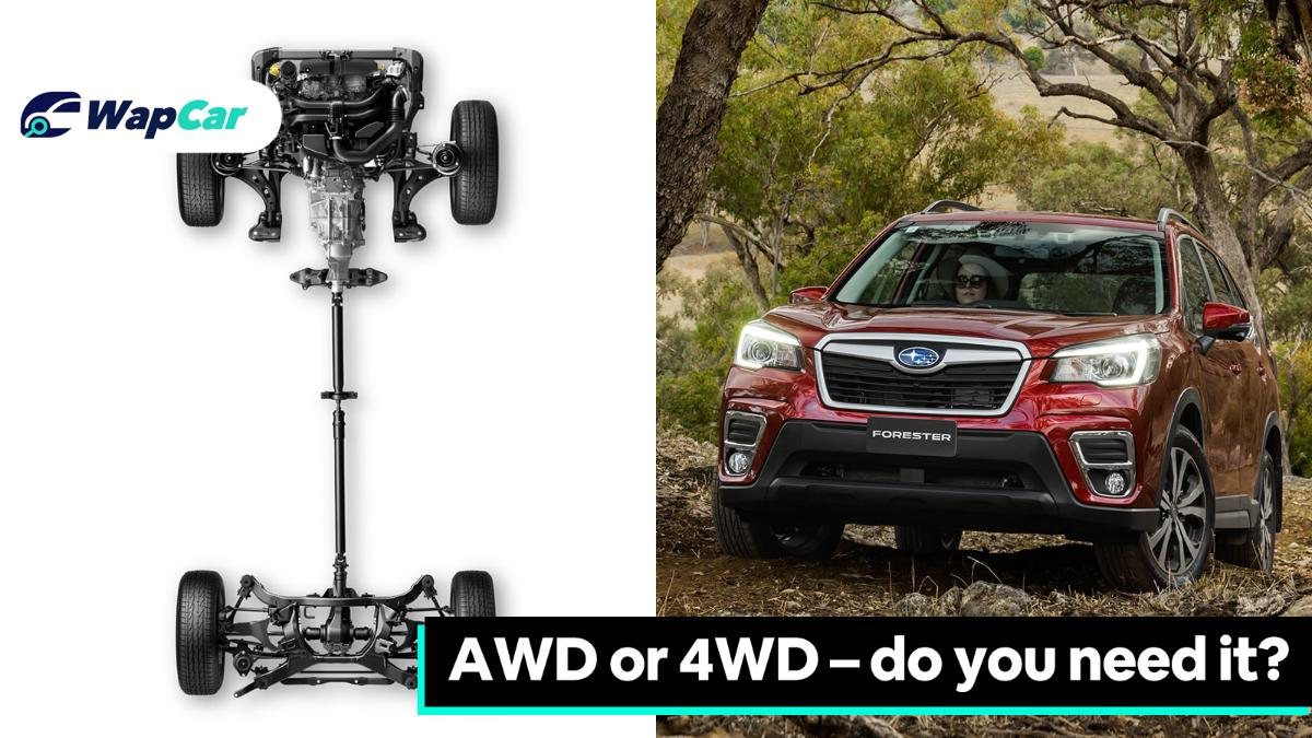 AWD or 4WD – do you need it? 01
