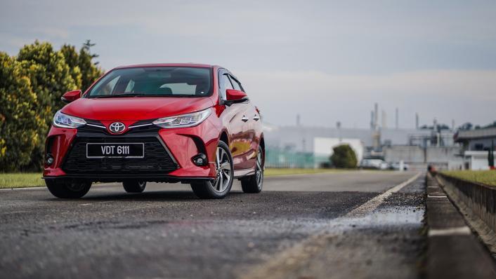 2021 Toyota Yaris 1.5G Exterior 010