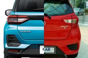 Toyota Raize并不比Perodua Myvi大多少