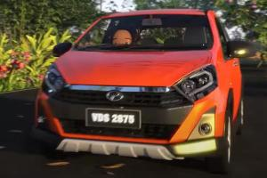 Did Perodua just previewed a new head unit for the Axia Style?