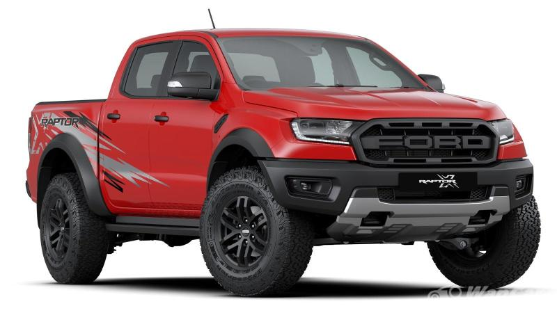 New 2021 Ford Ranger Raptor X is seeing Red in Malaysia, priced RM 6k more 02