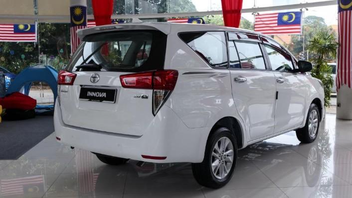 2018 Toyota Innova 2.0G (A) Exterior 003