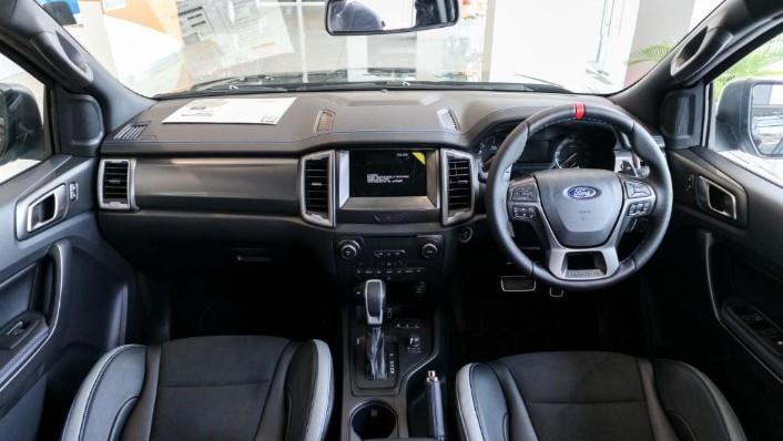 2019 Ford Ranger Raptor 2.0L 4X4 High Rdier Interior 001