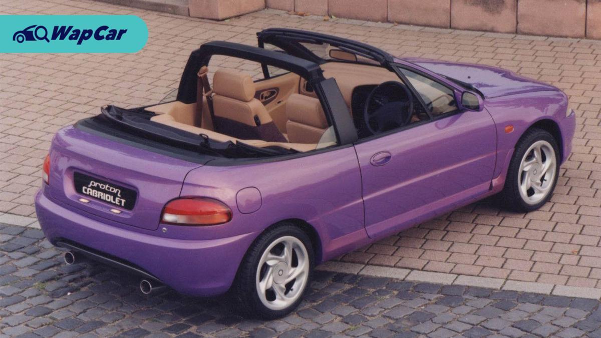 Proton Satria Cabriolet – The curious convertible 01