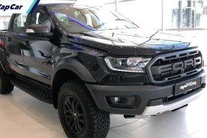 BOCOR: Ford Ranger Raptor X 2021 dengan warna Black, apa barang warna True Red?
