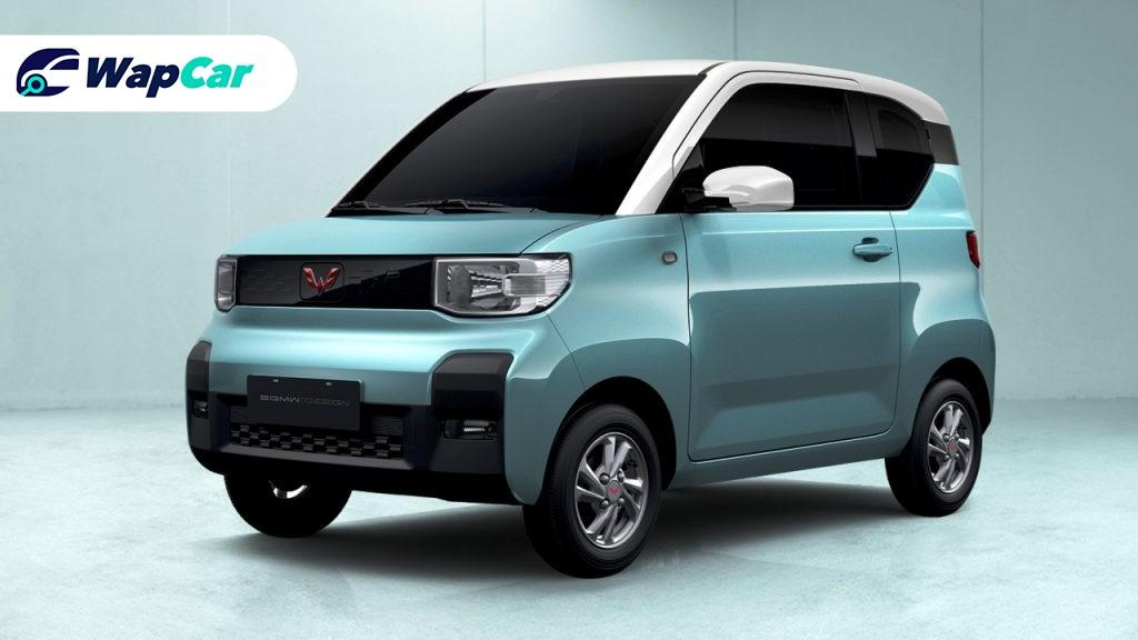Check out Wuling's new toy car-looking Hong Guang Mini EV 01