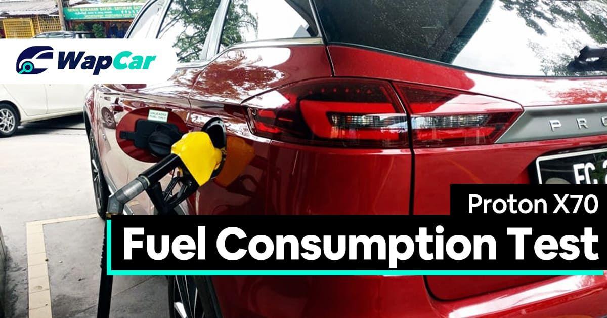 2020 Proton X70 Fuel Consumption