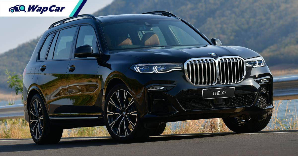 2021 BMW X7 xDrive30d (CKD) launched in Thailand, RM 810k 01