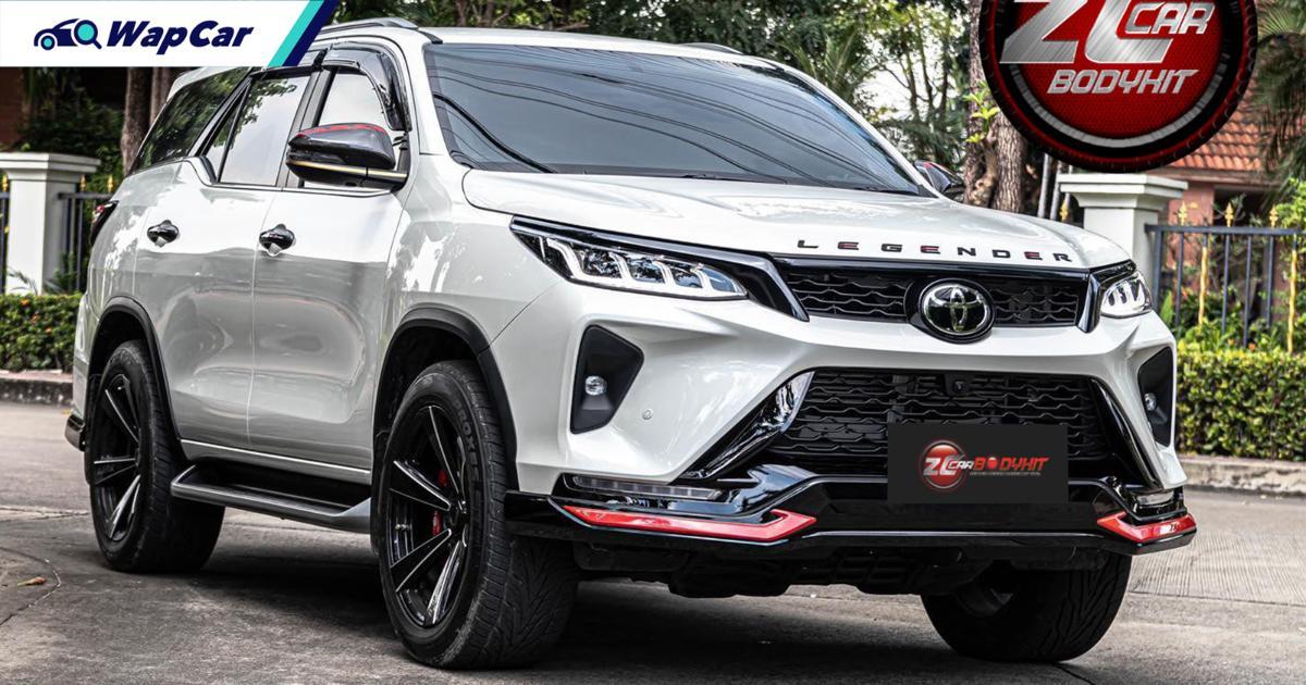 Toyota Fortuner 2021 tak cukup garang? Pasanglah kit badan ZC! 01