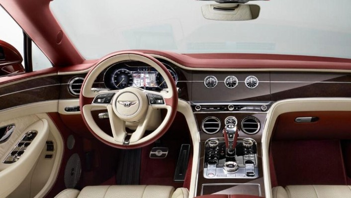 Bentley Continental (2019) Interior 004