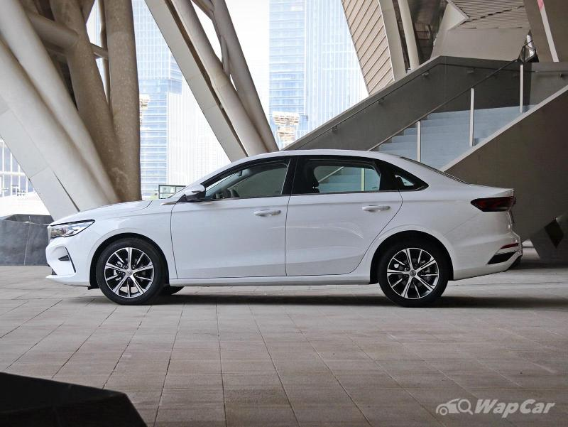 Budget sedan with premium features, this is the all-new 2021 Geely Emgrand 02