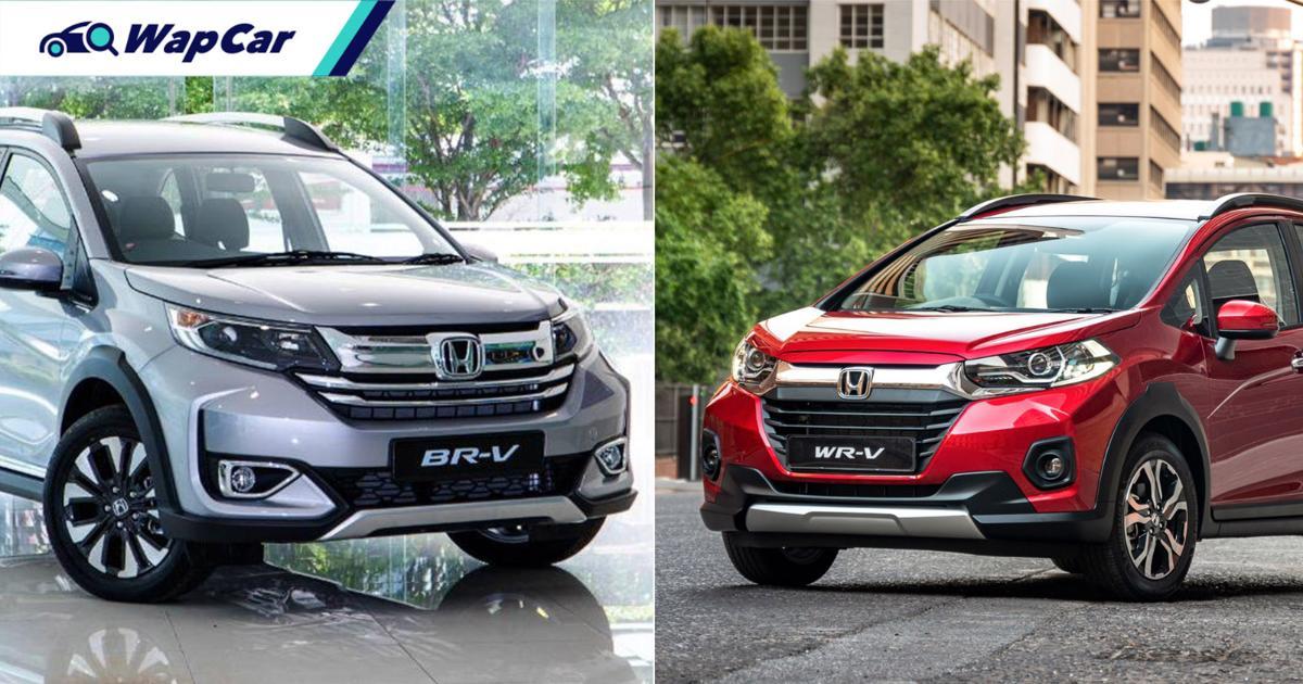 Honda BR-V generasi kedua / Honda WR-V bakal menjadi produk kilang Honda di Indonesia? 01