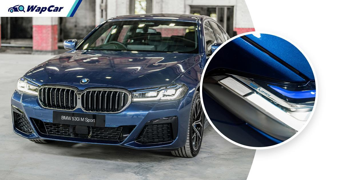 G30 2021 BMW 530i M Sport - What's so special about Laserlight? 01
