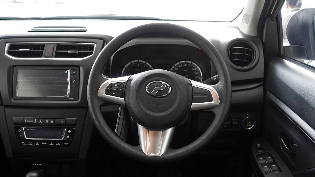 2019 Perodua Aruz 1.5 X Interior 006