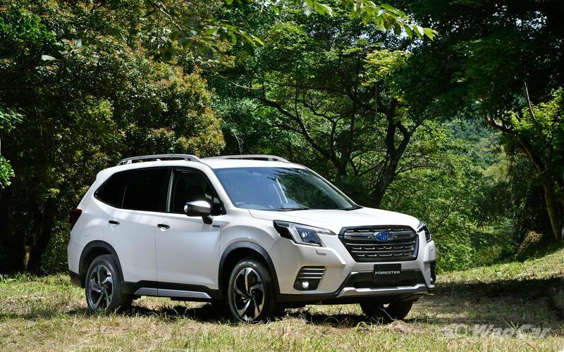 Japan's 2021 Subaru Forester facelift wears a new look, comes with better EyeSight ADAS 02