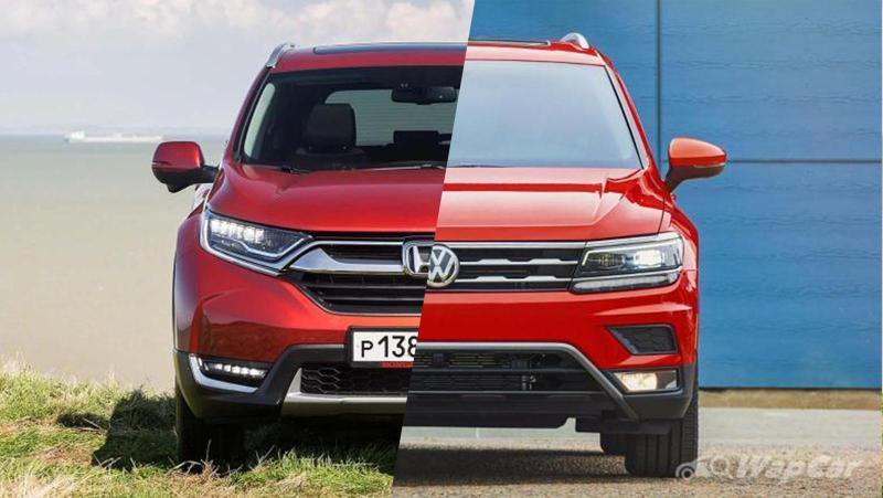 Honda CR-V atau VW Tiguan? SUV mana yang lebih baik? 02