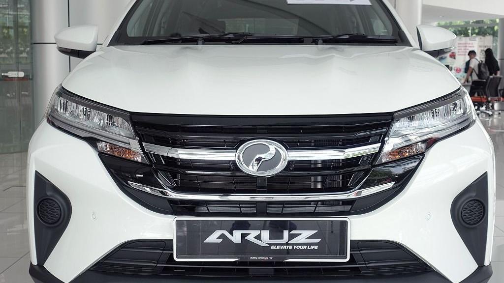 2019 Perodua Aruz 1.5 X Exterior 012