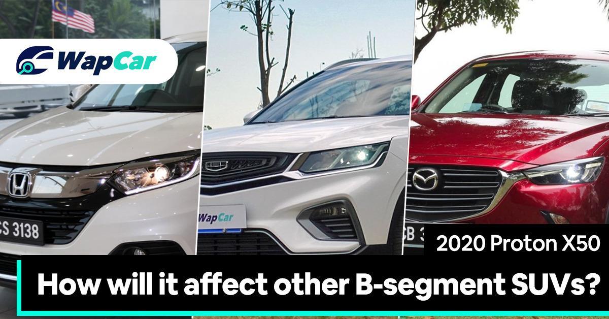 2020 Proton X50 – how will it affect other B-segment SUVs? 01
