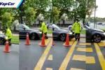 BMW cuba rempuh RELA di laluan sehala. Pemandu BMW minta maaf, laporan ditarik balik