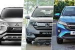 Perbandingan: Mitsubishi Xpander vs Honda BR-V vs Perodua Aruz. Mana lebih berkuasa?