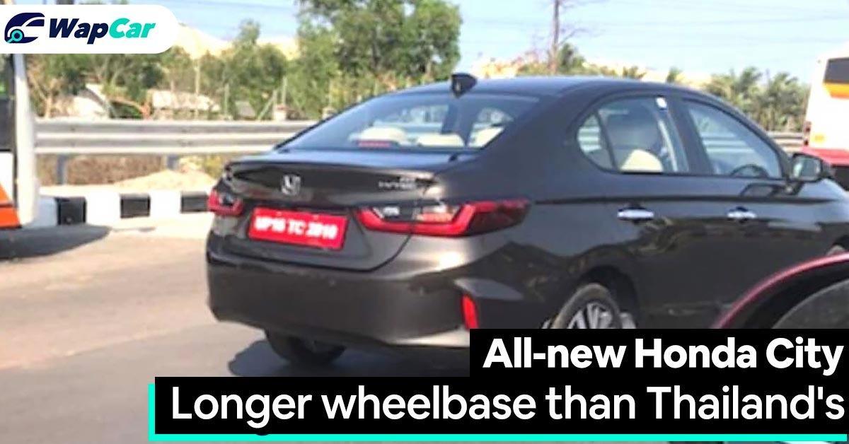 Spyshot: India to get a longer wheelbase 2020 Honda City? 01