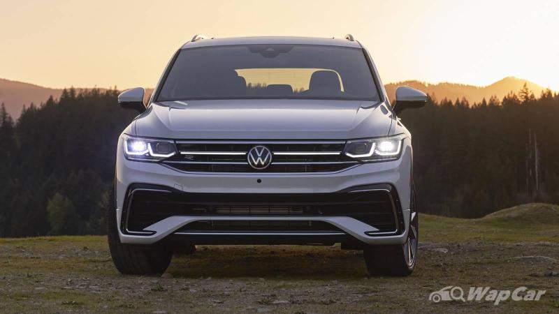 New 2021 VW Tiguan Allspace facelift debuts - Now with ...
